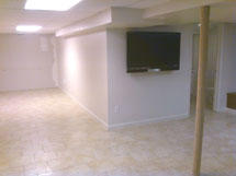 Basement Finishing Drywall and Doors