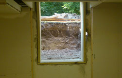 Egress Window Installation Demo of Exisitng Wall