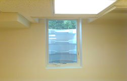 Egress Window Installation Completed