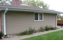Vinyl Siding Installation Completed